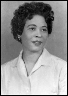 Little Rock Nine Mentor and Civil Rights Activist, Daisy Bates.