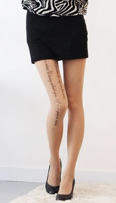 Love Letter Tattoo, Tattoo Tights, Lettering Tattoo, Online Collections, Cute Outfits, Amazon, Tattoos, Clothes, Style