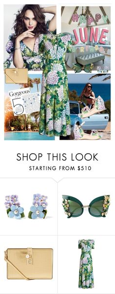 """""""Happy June! Happy Birthday!!"""" by musicfriend1 ❤ liked on Polyvore featuring Giannetti Home and Dolce&Gabbana"""