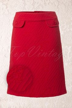 Wow to go! Vliegels Orange Red Skirt 123 20 13062 20140715 0004D