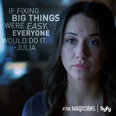 the Magicians, Julia