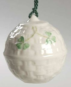 Belleek Pottery (Ireland) Belleek Christmas Ornament at Replacements, Ltd