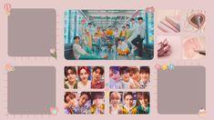 Seventeen Wallpaper Kpop, Seventeen Wallpapers, Wallpaper Dekstop, Wallpaper Pc, Nct Dream Jaemin, Aesthetic Desktop Wallpaper, Boyfriend Material, Photo Wall, Sehun
