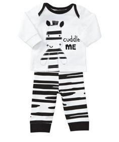 Mothercare Novelty Zebra Pyjamas Set