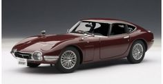 Silent Autos, the home of model cars brings you this Toyota 2000 GT Coupe Burgandy 1967 diecast model car by AUTOart in stock at the moment. We always have a large stock of car models at exceptitional prices in a range of colours. Classic Sports Cars, Classic Cars, Japan Motors, New Model Car, Toyota 2000gt, Japan Cars, Jaguar E Type, Emergency Vehicles, Diecast Model Cars