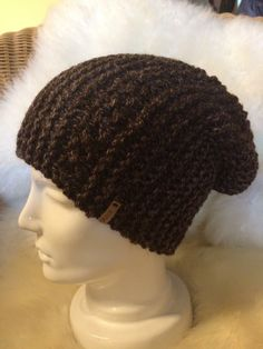 Brown woollen hat made by Hat Making, Crochet Hats, Beanie, Brown, Fashion, Scarf Knit, Head Bands, Scarves, Moda