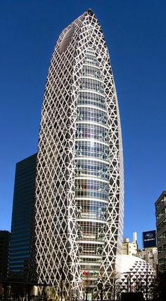 Mode Gakuen Cocoon Tower, Tokyo, Japan by Kenzo Tange Associates :: 50 floors, height educational Architecture Antique, Architecture Design, Futuristic Architecture, Beautiful Architecture, Contemporary Architecture, Japan Architecture, Unusual Buildings, Interesting Buildings, Amazing Buildings