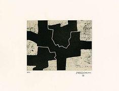 Eduardo Chillida (1924-2002), Gaur I, 1968. Etching and aquatint. Plate size: 17.4cm H x 22.5cm W. Sheet size: 45cm H x 56.6cm W. Edition of 50 copies.