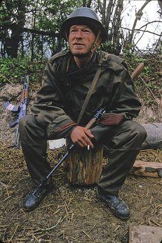 Bosniak soldier.