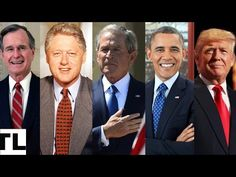 Top 5 Biggest MISTAKES Made by America's Last 5 PRESIDENTS [ Bush, Clinton, Bush, Obama, Trump] - YouTube