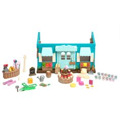 Li'l Woodzeez Medium Playset – General Store
