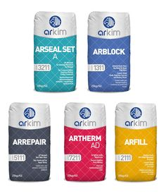 ARKIM Construction Chemical  - The Dieline -