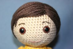 Boy's Amigurumi hair tutorial