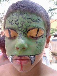 Snake- Face Painting