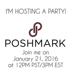 I'M HOSTING! Tag your friends, share, and leave me a comment so I can check out your closet on January 21st! Other