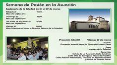 Programa Semana Santa 2015 mostoles
