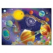 Melissa & Doug Deluxe The Infinite Cosmos Cardboard Jigsaw - 300 Piece: The thick, durable pieces of this puzzle when assembled, feature a colorful view of our universe. Puzzle Party, 300 Piece Puzzles, Puzzles For Toddlers, Newborn Toys, Best Kids Toys, Melissa & Doug, Toys Online, Toy Store, Cosmos
