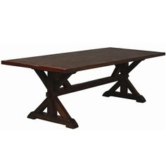 Costwold Trestle Table at Phillips Furniture