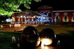 Maravilla a tus invitados con esta vista de la #HaciendaHunxectaman #Eventos #MaxiEventos