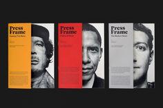 Press Frames Publication on Editorial Design Served