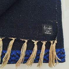 LUNA Midnight Mexican Blanket | Gypsy Home Wares | dosombre.com