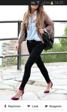 Casual chique #fashion #streetstyle