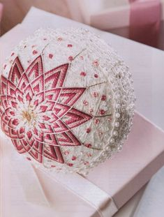 istructions on how to embroider a Japanese tamari ball ornament Gallery.ru / Фото #23 - 342 - Yra3raza