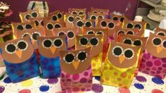 Owl Classroom Ideas | And here is the assortment, ready for her party: