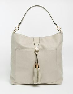 River Island Tassel Slouch Hobo Bag
