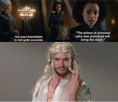 The prophecies are dangerous ! #Jonerys confirmed ! #GameOfThrones #WinterIsHere #GOTS7