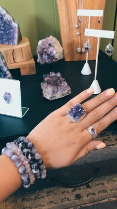 Check out everything we have in Amethyst on our website. Select items 20% off, use code STOREIADORE at checkout. #amethyst #amethystjewelry #localartist #wacotexas #druzyjewelry Druzy Jewelry, Amethyst Jewelry, Coin Jewelry, Druzy Ring, Jewellery, Ring Video, So Creative, Custom Jewelry Design, Jewelry Stores