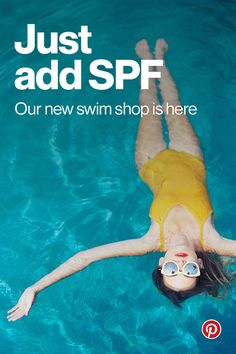 "Browse and buy unique products directly on Pinterest every day. Our featured swim shop has over 100 items hand selected by our in-house editors. See something you love? Tap ""Buy it"" and it's yours in 60 seconds or less, without ever leaving the app. Happy shopping!"
