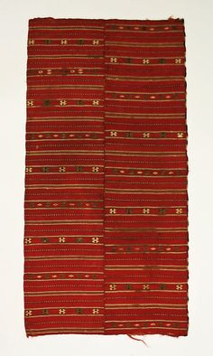 Apron Date: 19th century Culture: Bulgarian