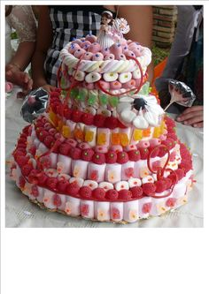 tarta comunión chuches