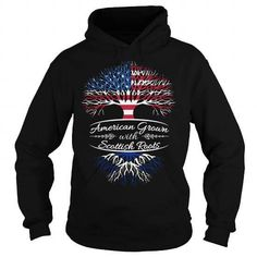 American grown with sottish roots T-Shirts & Hoodies
