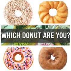 QUIZ via @Dunkin' Donuts : Which Donut Are You? | http://bzfd.it/1ocgJN2