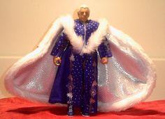 WWE elite MATTEL defining moments NATURE BOY RIC FLAIR blue robe LOOSE ric flair