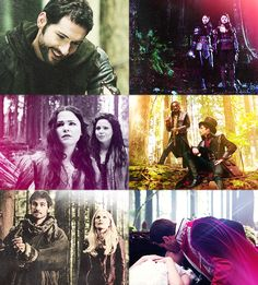 Not my Robin and Jefferson and Hook <3
