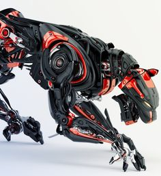 Science fiction super soldier biologically modified robotic cyberpunk technology