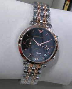 EMPORIO ARMANI  CHRONOS WORKING. New in stock. Grab it now. Price - Rs.1499. Dm or whatsapp at 09871243857 to book. shipping extra. by fashionistaa_city
