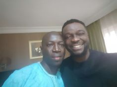 Bajo (Divine Force Records Boss) and Mike Abdul (spaghetti Records Boss)