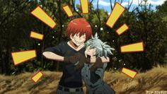 Assassination Classroom-Karma and Nagisa Fanarts Anime, Anime Characters, Manga Anime, Anime Art, Me Me Me Anime, Anime Love, Assassination Classroom Funny, Karma Y Nagisa, 19 Days Manga Español