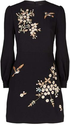 Harrods, designer clothing, luxury gifts and fashion accessories Ted Baker Dress, Ted Baker Black Dress, Kpop Fashion Outfits, Womens Fashion, Luxury Fashion, Embroidery Fashion, Embroidery Ideas, Cute Clothes For Women, Embroidered Clothes