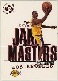 AMAZING! Kobe Bryant L.A. Lakers 1997-98 UD3 Jam Masters Upper Deck Card #19 plus FREE SHIPPING! $4.99