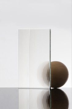 Bower Studios - Contemporary mirror, furniture and product design studio. Material Library, Material Board, Reeded Glass, Glass Texture, Glass Design, Textures Patterns, Design Inspiration, Interior Design, Decoration