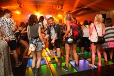 Heineken Activates a Kinetic Dance FloorWith a kinetic dance floor generating power for the experience, Heineken threw a lively house party at Coachella in its Heineken House.