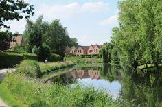 Marcq-en-Baroeul - canal de Roubaix Fief, Roubaix, France, Europe, America, Mansions, House Styles, World, Places