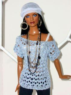 cc03fc9c | Flickr - Photo Sharing! Crochet Barbie Clothes, Doll Clothes, Pretty Dolls, Beautiful Dolls, Fashion Dolls, Fashion Outfits, Diva Dolls, African American Dolls, Black Barbie