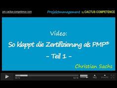 Teil 1 meiner Video-Mini-Serie zur Zertifizierung als Project Management Professional PMP ist jetzt online. In Teil 1 erfährst du, welche Voraussetzungen du erfüllen musst für eine Zertifizierung als PMP, wie die Anmeldung funktioniert und was du in welcher Reihenfolge tun musst. Nächste Woche gehts dann an gleicher Stelle weiter mit Teil 2. https://www.youtube.com/watch?v=S8DcnxgbLeo