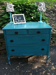 A Salvaged Beauty: Meet Bold Beatrice Stain over paint technique.